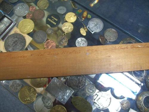 peñarol 60 aniversario 1891 1961 regla de madera