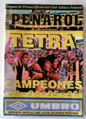 peñarol // revista tetracampeón uruguayo 1993-1996