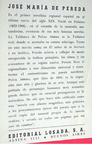 peñas arriba 2 josé m. de pereda novela costumbrista