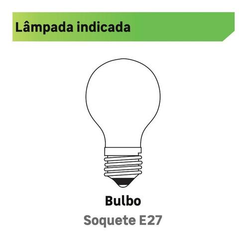pendente 1 lâmpada cobre metal maozi luz vita