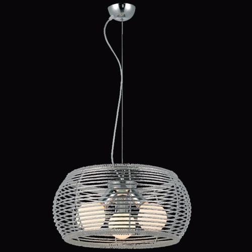 pendente cromado aramado 3 lampadas e-27