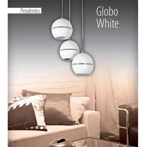 pendente globo aço white 3xe27 avant p9114