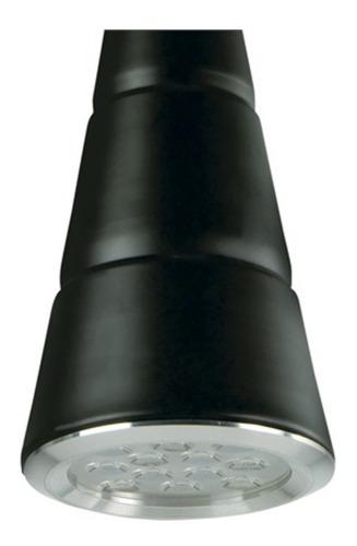 pendente led tpcl 12 em alumínio 4000k 12w preto