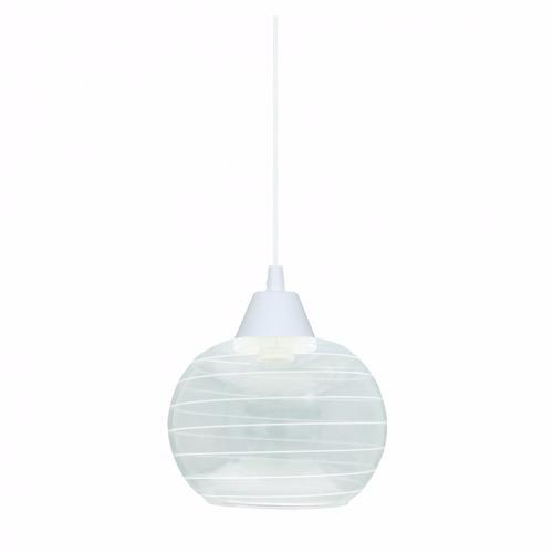 pendente luminária td 640/2 vidro riscado 2x taschibra