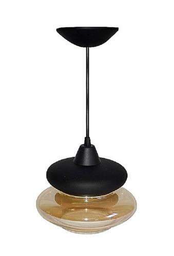 pendente lustre luminária de teto modesto plástico e vidro