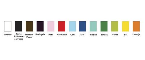 pendente redondo colorido médio ø25 sala quarto  - caisma