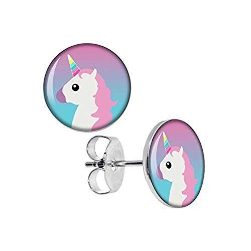 8bd66be48650 Pendientes De Unicornio Para Niñas
