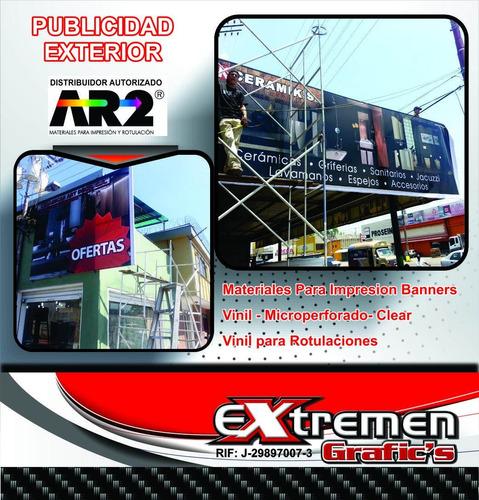 pendones campaña lona,banners,vinil,microperf. publicidad