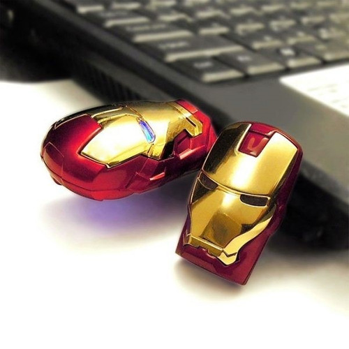 pendrive 16 gb usb flash boneco personagem homem de ferro