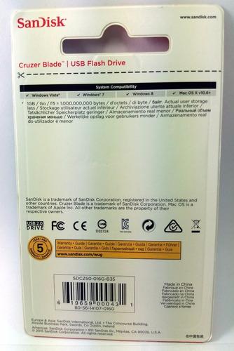 pendrive 16gb sandisk 100% original melhor preço r$23,50