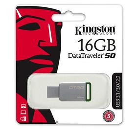 Pendrive 16gb Usb 2.0/3.0/3.1 Kingston Dt50 Metalico