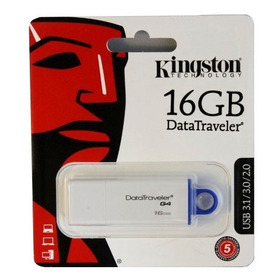 Pendrive 16gb Usb 2.0/3.0/3.1 Kingston Gtia Local