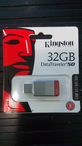 pendrive 32 gb kingston dt 50 original