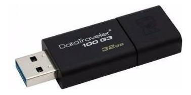 pendrive 32gb kingston datatraveler dt100 g3 usb 3.1