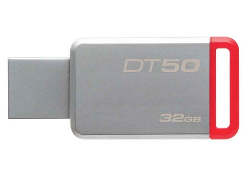 pendrive 32gb kingston dt50 usb3.1 - 3.0 - 2.0 - metal