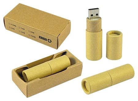 pendrive 4gb ecológico , pack desde 50 unidades