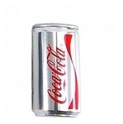 pendrive 4gb latinha coca cola prata