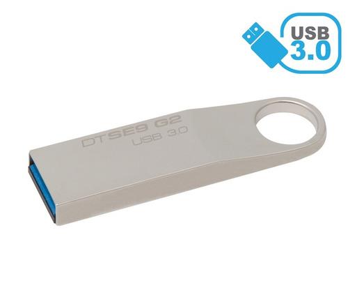 pendrive 8gb aluminio usb 3.0, alta velocidad, somos tienda