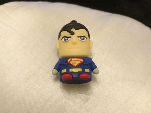 pendrive 8gb capacidad superheroe superman