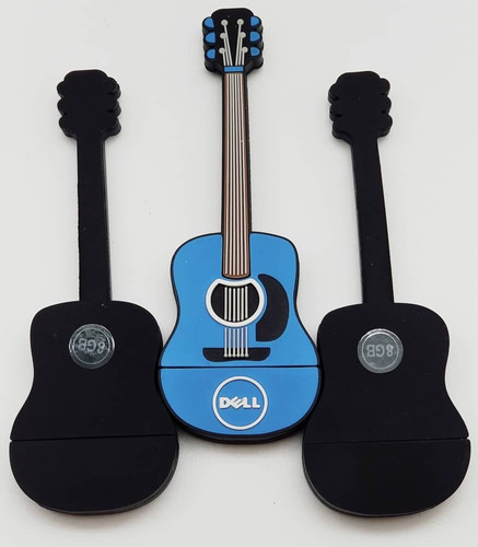 pendrive 8gb diseño de guitarra marca dell