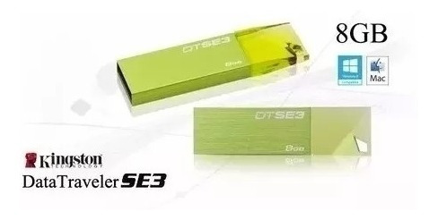 pendrive 8gb kingston 100% original 10$ al mayor