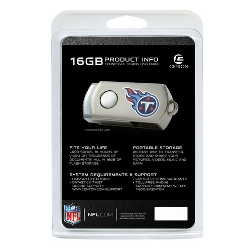 pendrive centon tennessee titans edition nfl datastick
