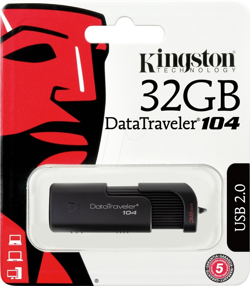 PEN DRIVE KINGSTON  32GB DATATRAVELER