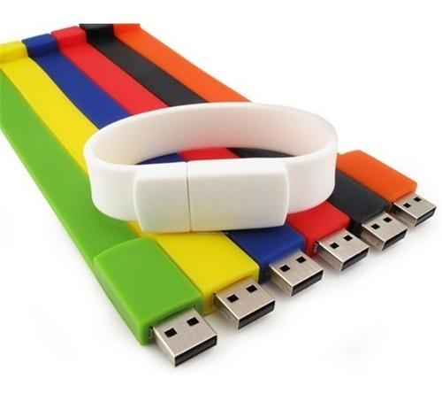 pendrive de 4gb pulsera flash drive oferta usb colores