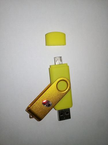 pendrive doble puerto para celulares y tablets otg 8gb