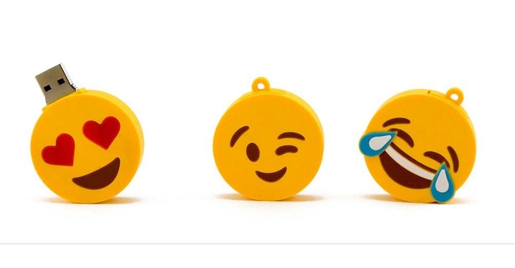 Pendrive Emoticón Risa 8 Gb Alta Calidad 6 Cuotas 22000 En
