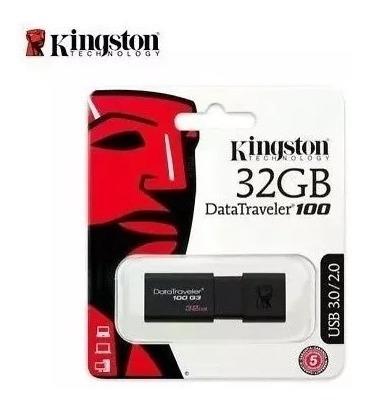 pendrive kingston 32gb dt100 g3 usb 3.0/2.0 13$ original