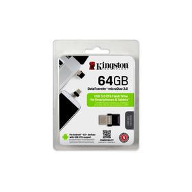 Pendrive Kingston 64gb Dt Micro Duo Usb 3.0 Otg Dtduo3/64gb
