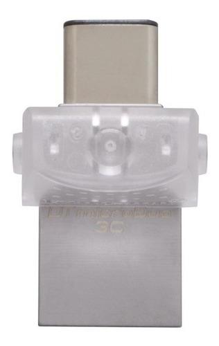 pendrive kingston 64gb dt micro duo usb 3c - usb3.1