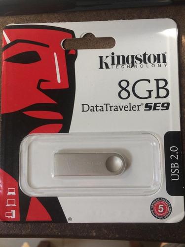 pendrive kingston 8 gb metal