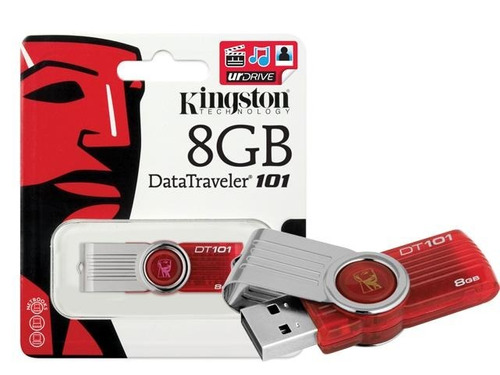 pendrive kingston 8gb dt101 nuevos, somos tienda. paga debit