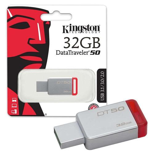 pendrive kingston datatraveler dt 50 32 gb usb 2.0/3.0/3.1
