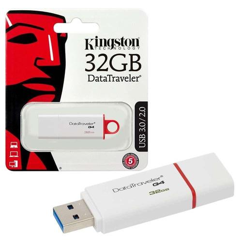 pendrive kingston datatraveler g4 32 gb usb 2.0 / 3.0 / 3.1