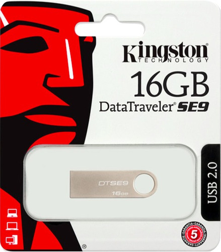 pendrive kingston datatraveler se9 16gb flash usb 2.0