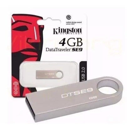 pendrive kingston datatraveler se9 4gb - tienda