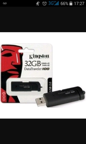 pendrive kingston de 32 gb (a partir de 3 unidades)