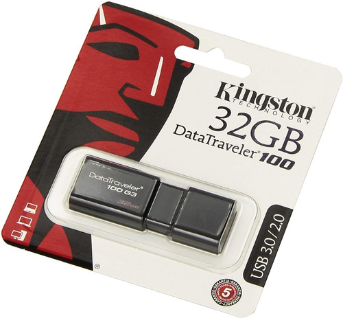 pendrive kingston dt100 32gb g3 usb 3.1 oferta *9*