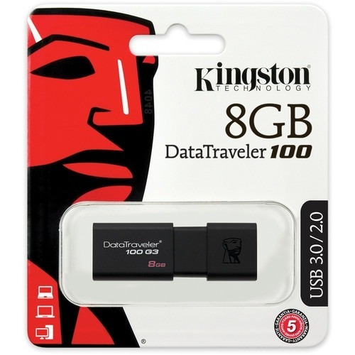 pendrive marca kingston 8gb usb 3.0 memoria flash
