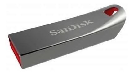 pendrive sandisk 16 gb cruzer metal cz71 - prophone