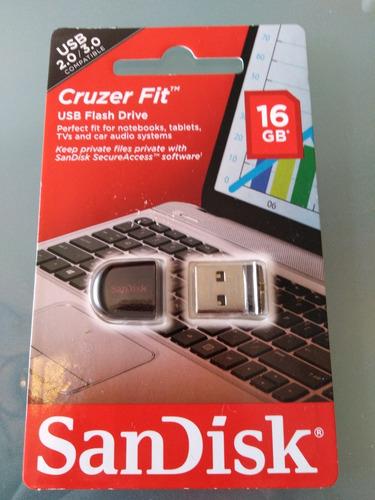 pendrive sandisk cruzer fit 16gb