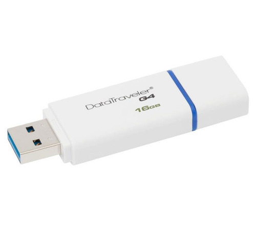 pendrive usb 16gb 3.0 data traveler original - kingston
