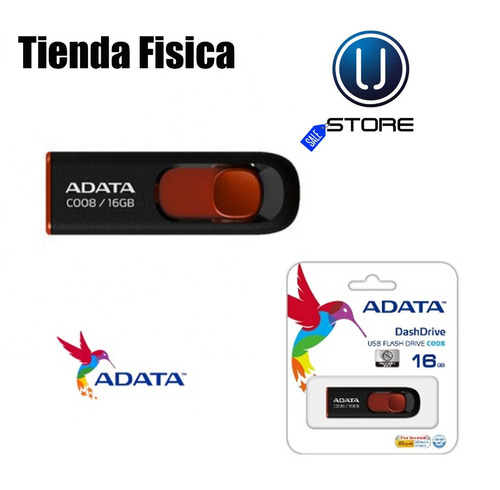 pendrive usb adata 16 gb en blister 100% originales