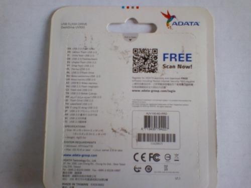 pendrive usb flash drive uv100 marca adata