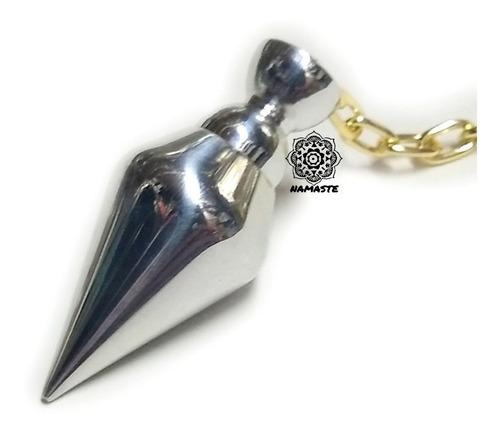 pendulo de aluminio con testigo alta precisión radiestesia