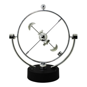 Pendulo De Newton Cinetico Magnetico Enfeite Mesa Escritorio