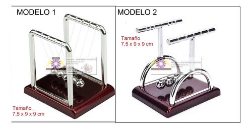 pendulo de newton  fisica ciencia - adorno - inelges